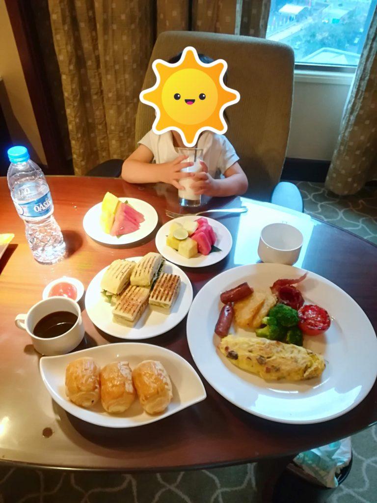 アヤナホテルの朝食