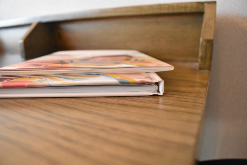 しまうまプリントのフォトブック、プレミアムハードとレギュラーの比較