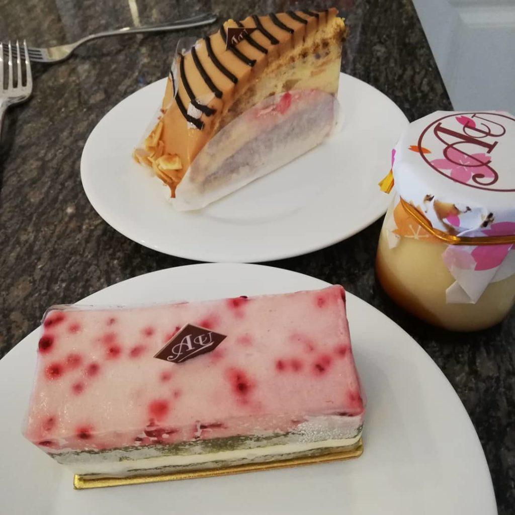 ジャカルタのケーキ屋さん パティスリー宇田川
