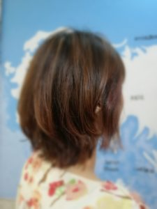 Lond Tokyo ジャカルタでヘアカットアフター